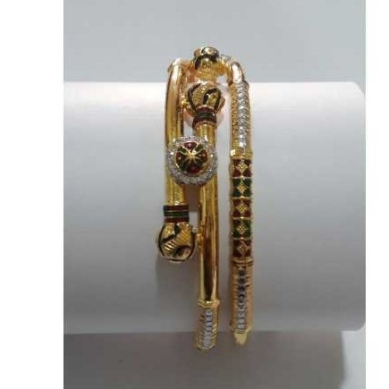 22KT Gold Ladies Indian Fancy Bangle