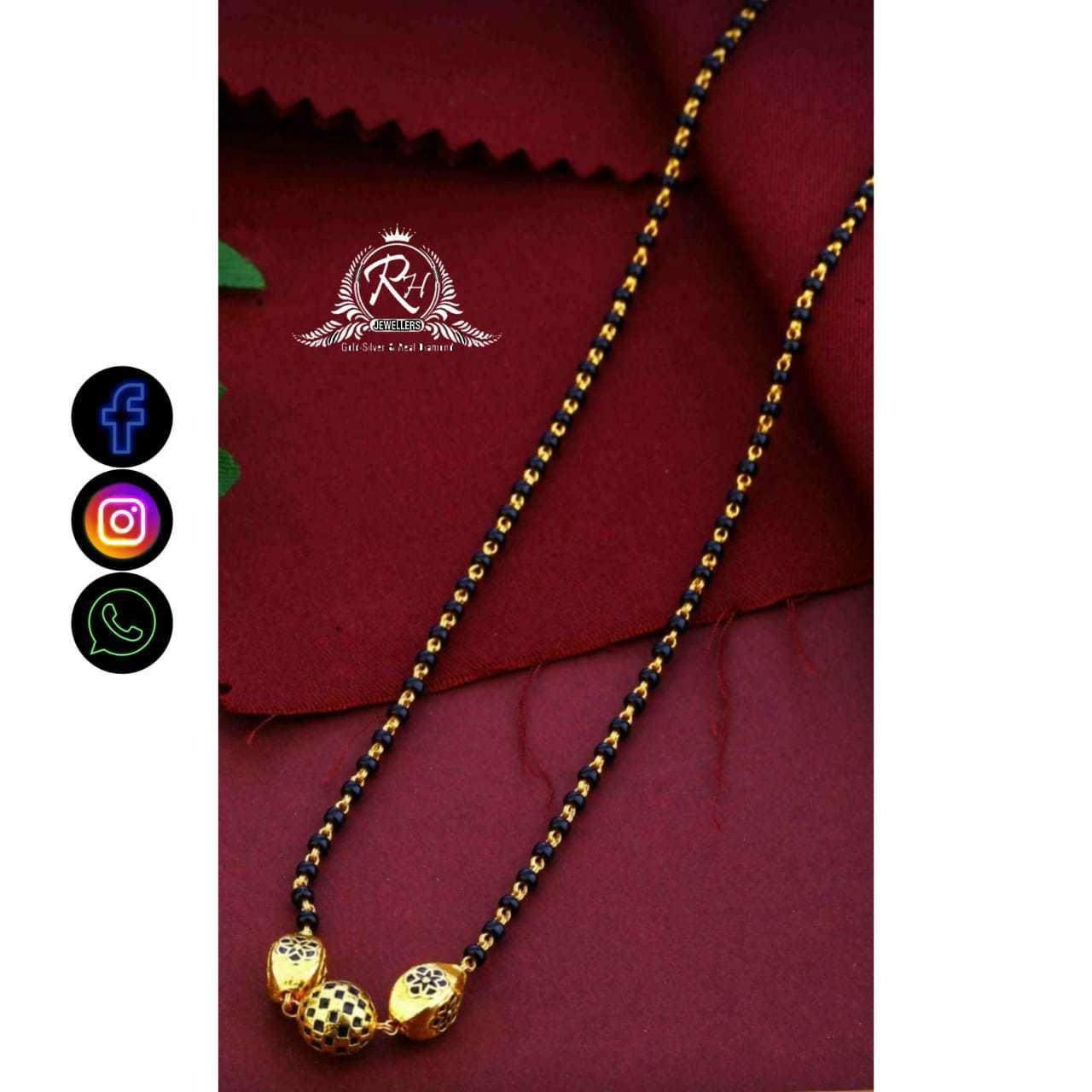 22 Carat Gold Classical Ladies Mangalasutra RH-LM708