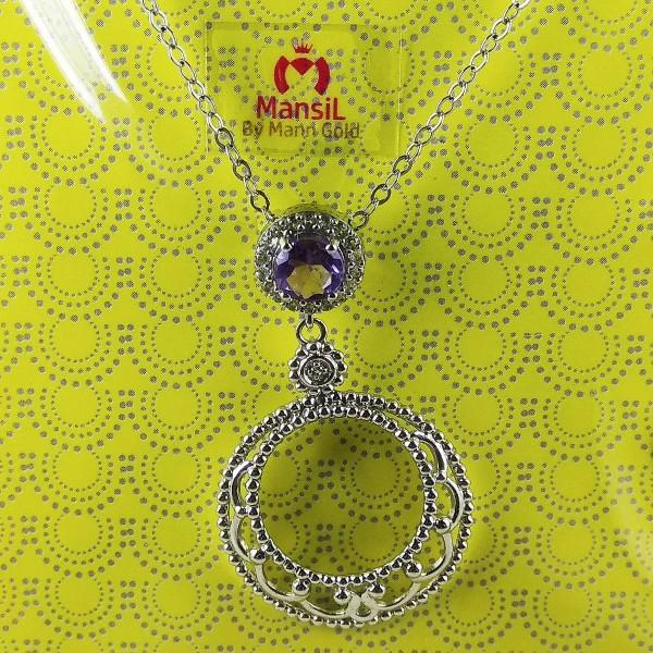 fancy 925 sterling silver chain set