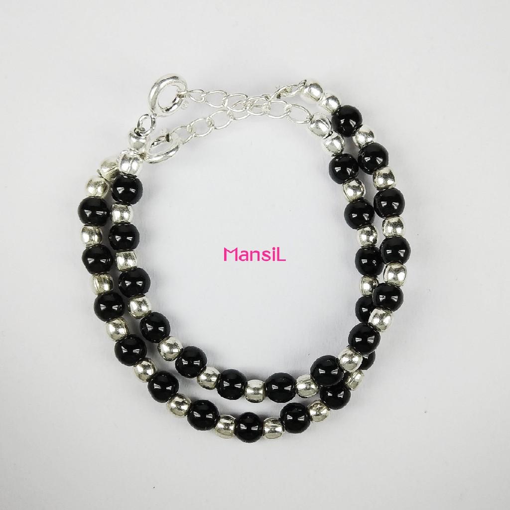 92.5 sterling silver Baby najriya bracelet ML-102