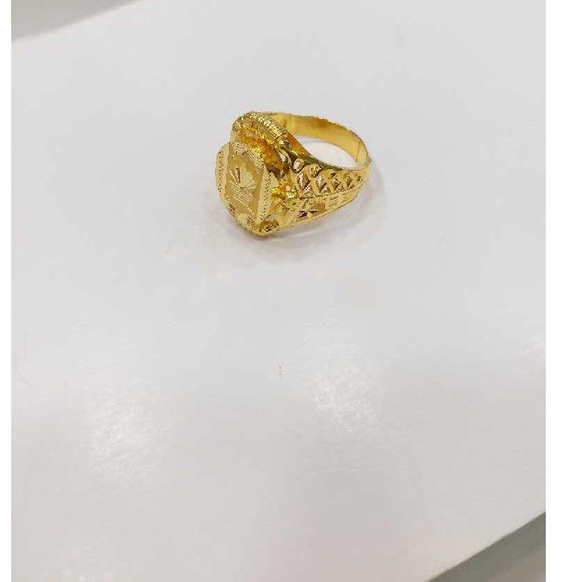 760 gold jalpari gents ring RJ-J002