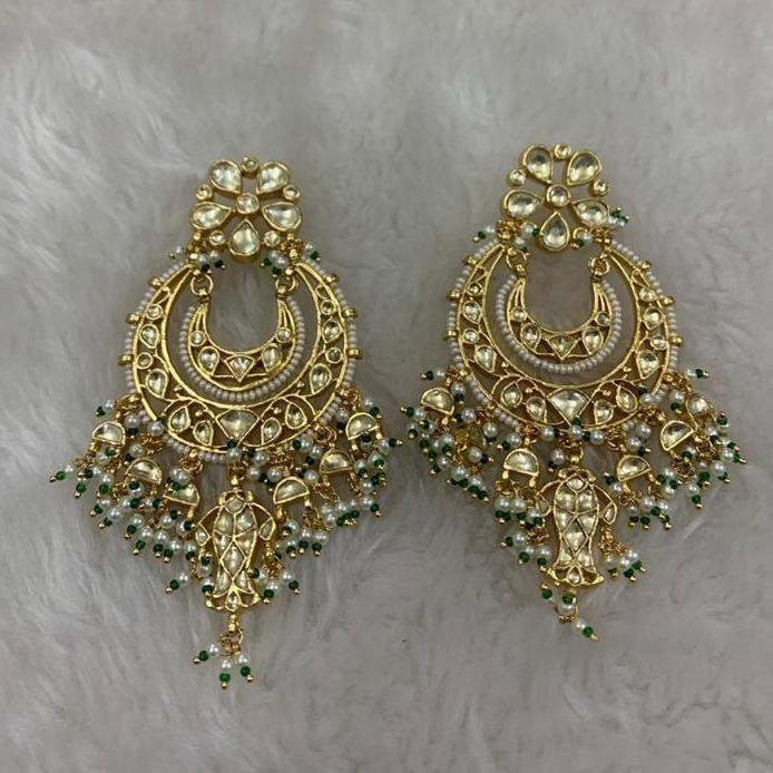Imitation chandbali Wedding Earrings