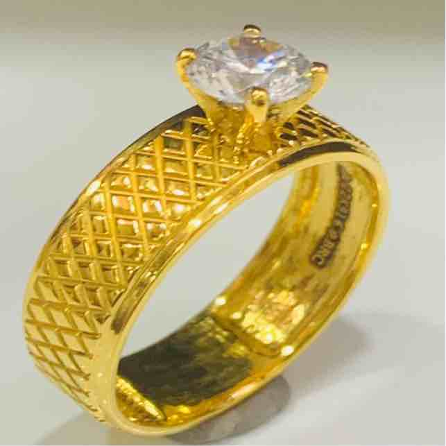 22kt 916 exclusive engagement ladies ring