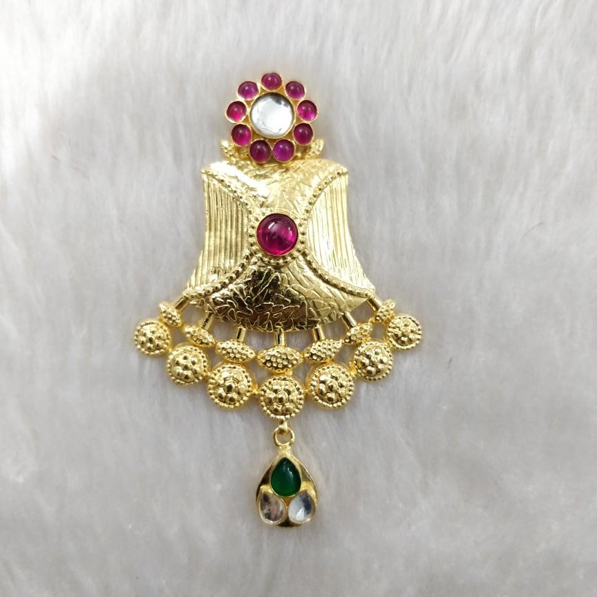 Antique set pendant