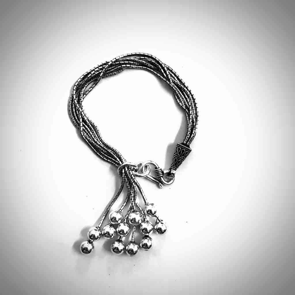 Antique Oxodise 925silver bracelet