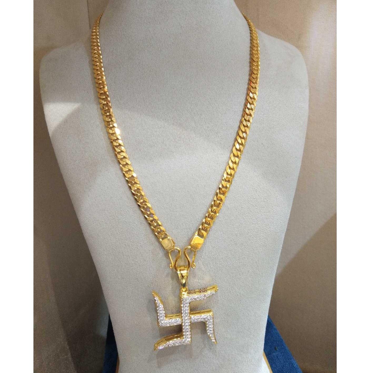 Gold chain & pendant