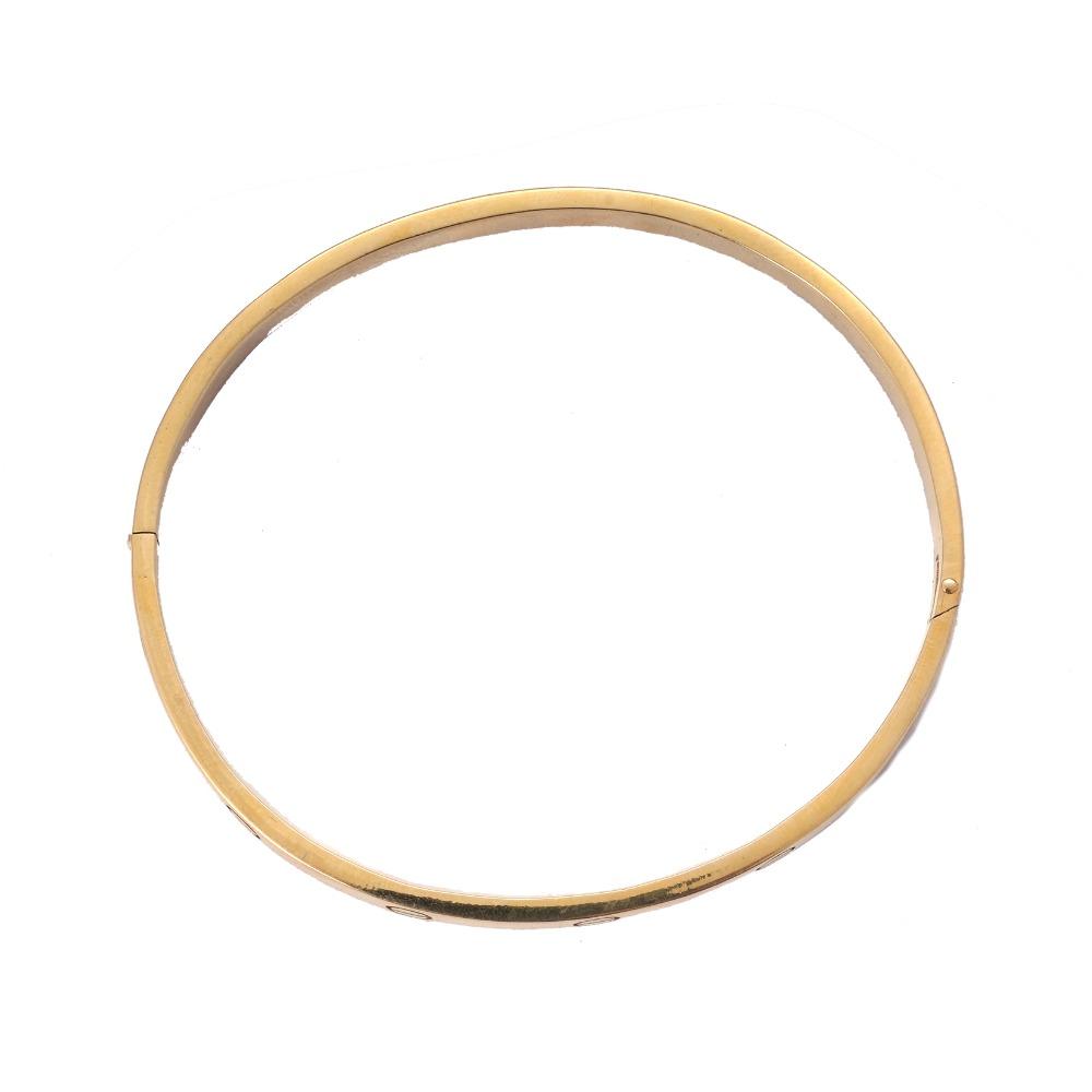 22K Gold Fancy Kada Bracelet