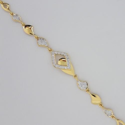 916 Gold casual bracelet