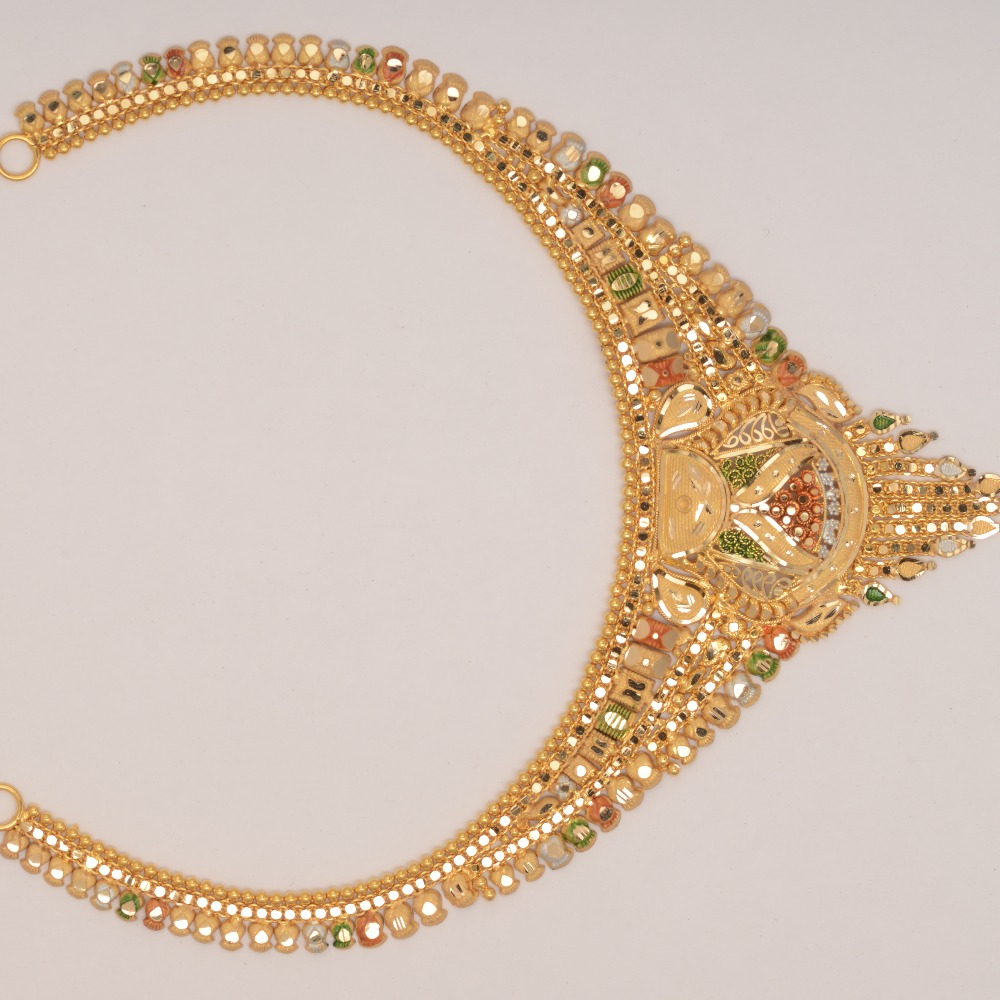 22ct Gold Necklace Of Calcutti