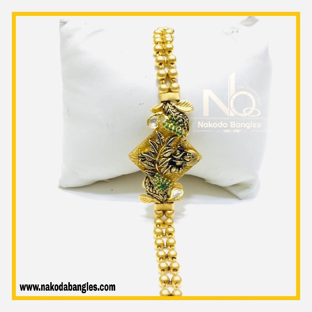 916 Gold Antique Bracelet NB - 565
