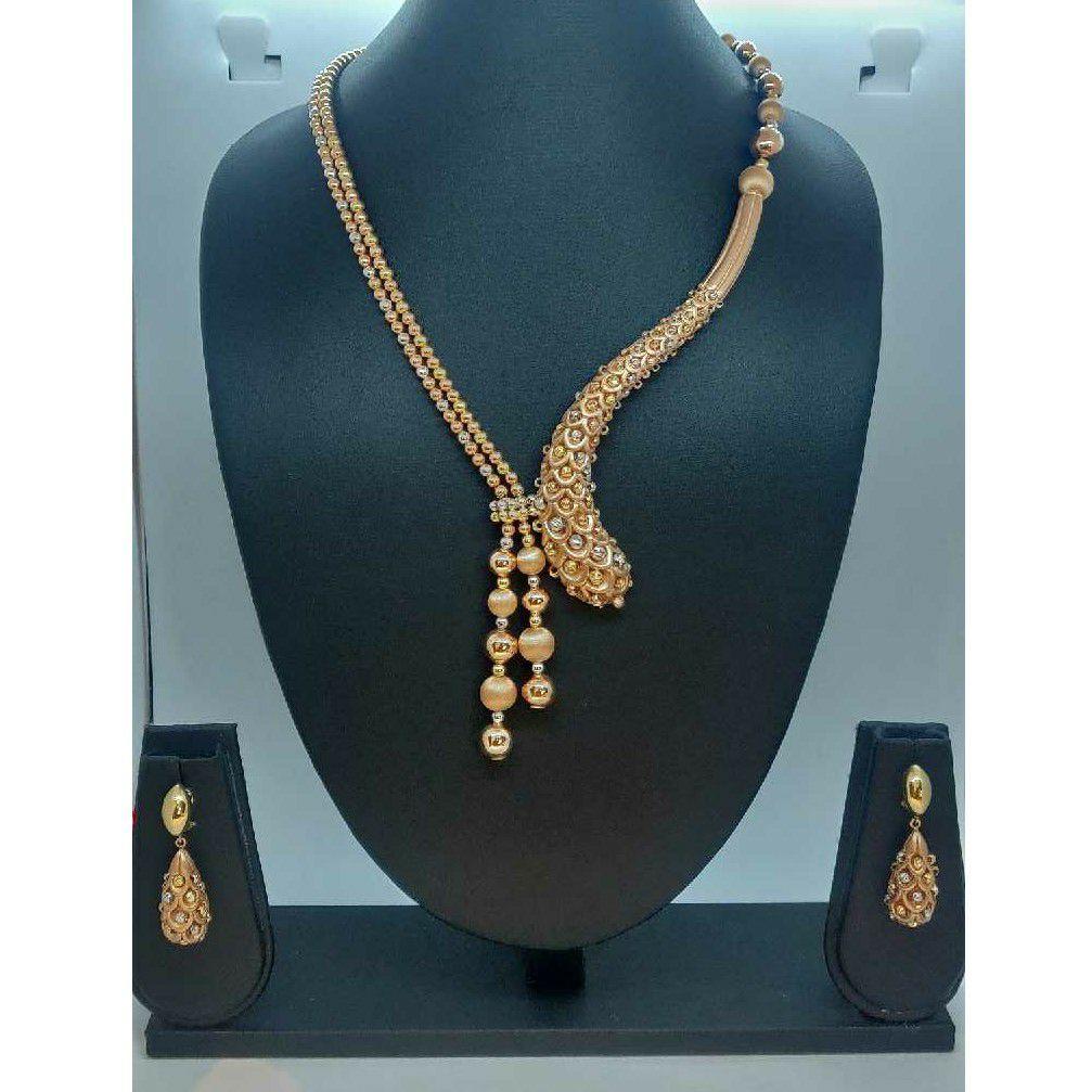 916 Gold Designer Necklace Set