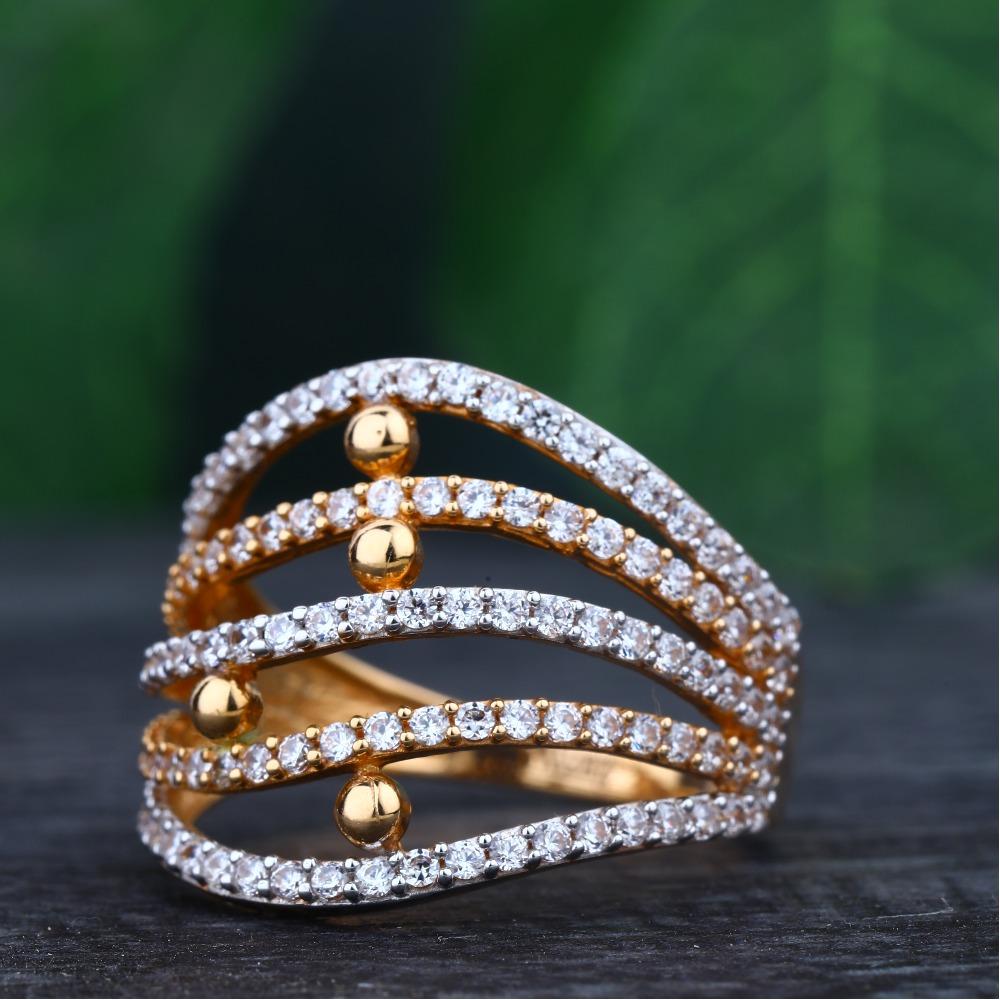 916 Gold Hallmark Attractive ring