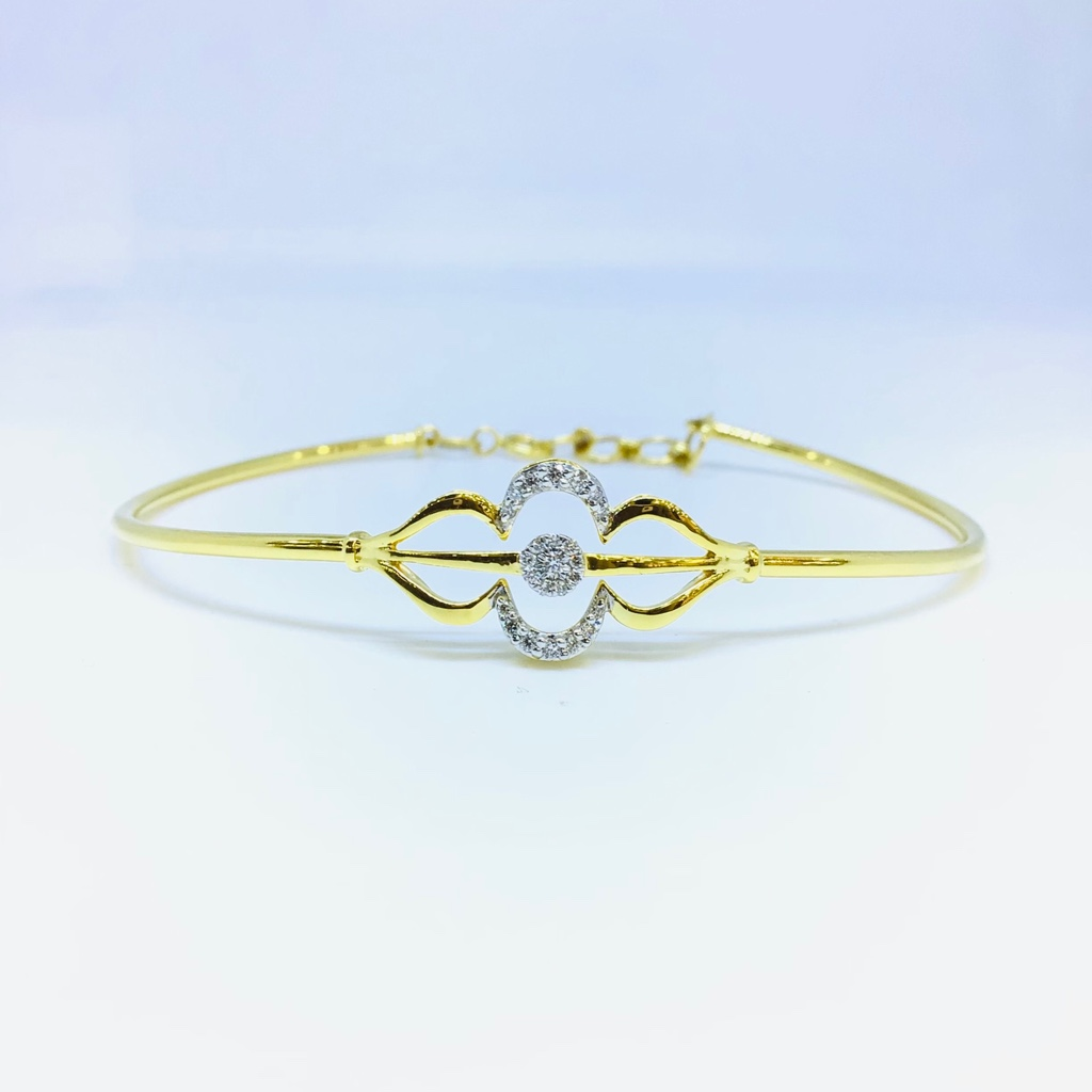 DESIGNING FANCY REAL DIAMOND KADA BRACELET