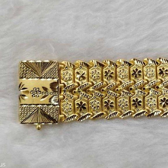 22KT Gold Wedding Gents Bracelet