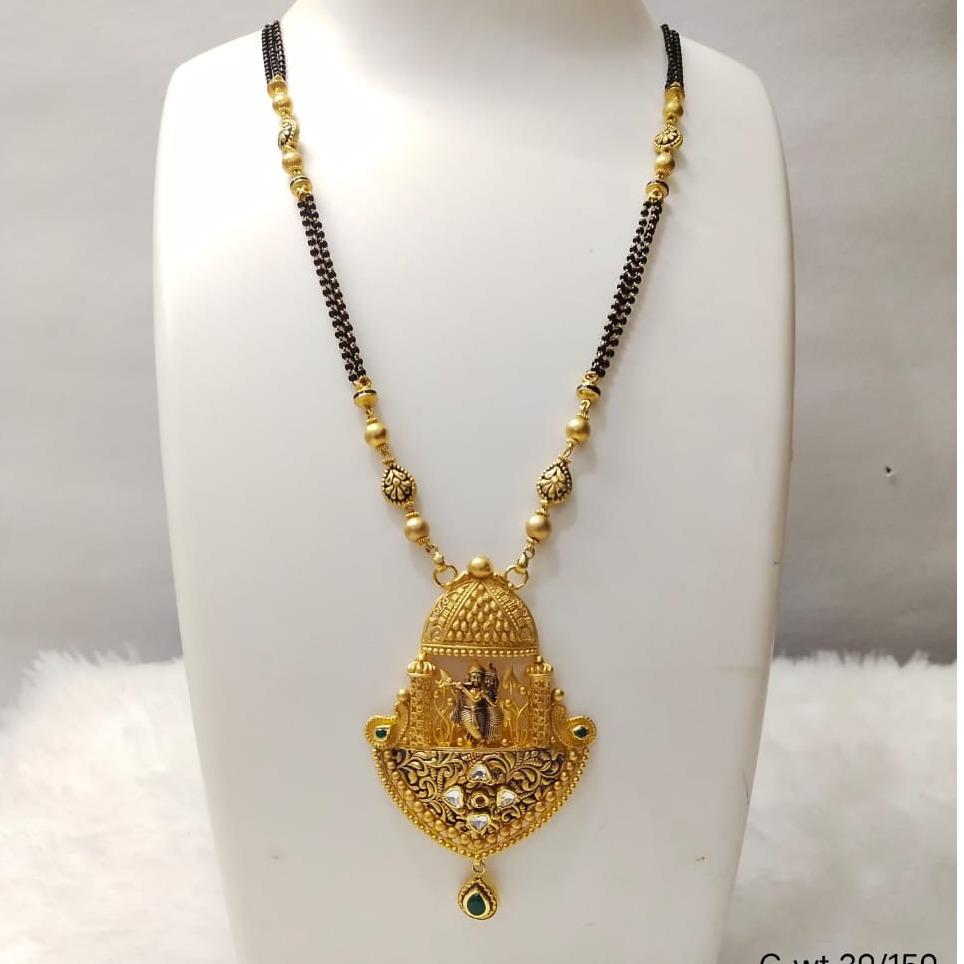 22 carat gold ladies mangalsutra RAH-MN836