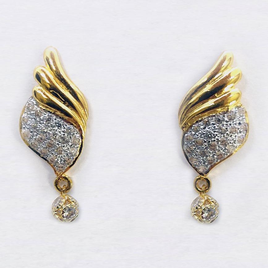916 cz gold pendant set sk-pS999