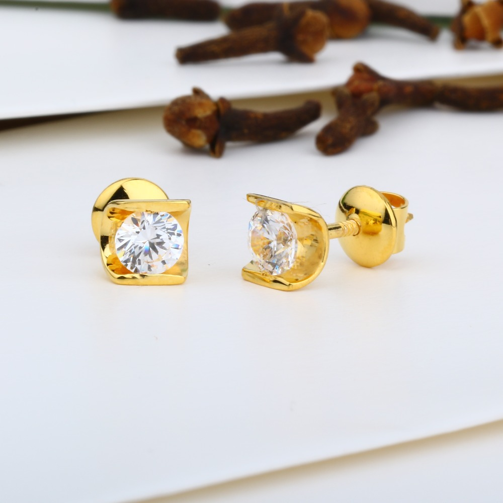 916 Gold Attractive Swarovski Tops JJ-E015