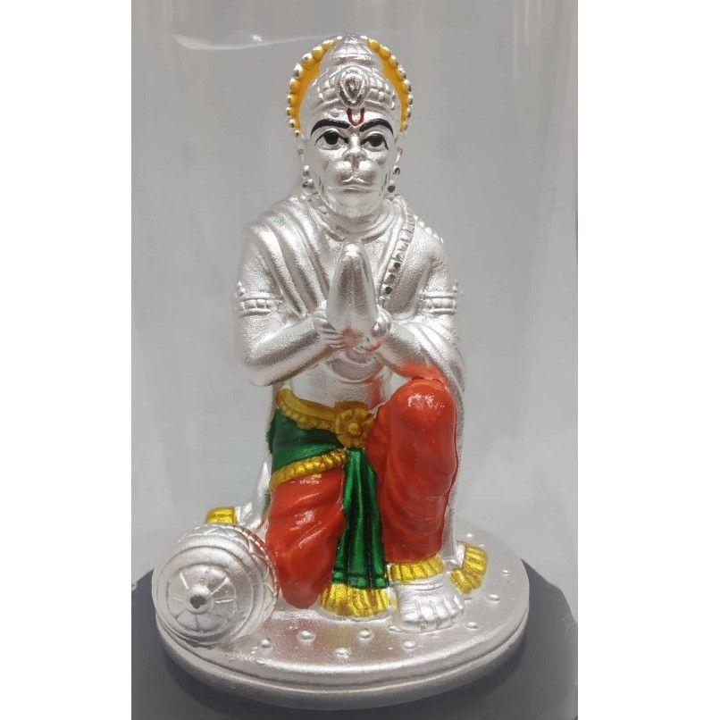 999 pure silver hanuman idols