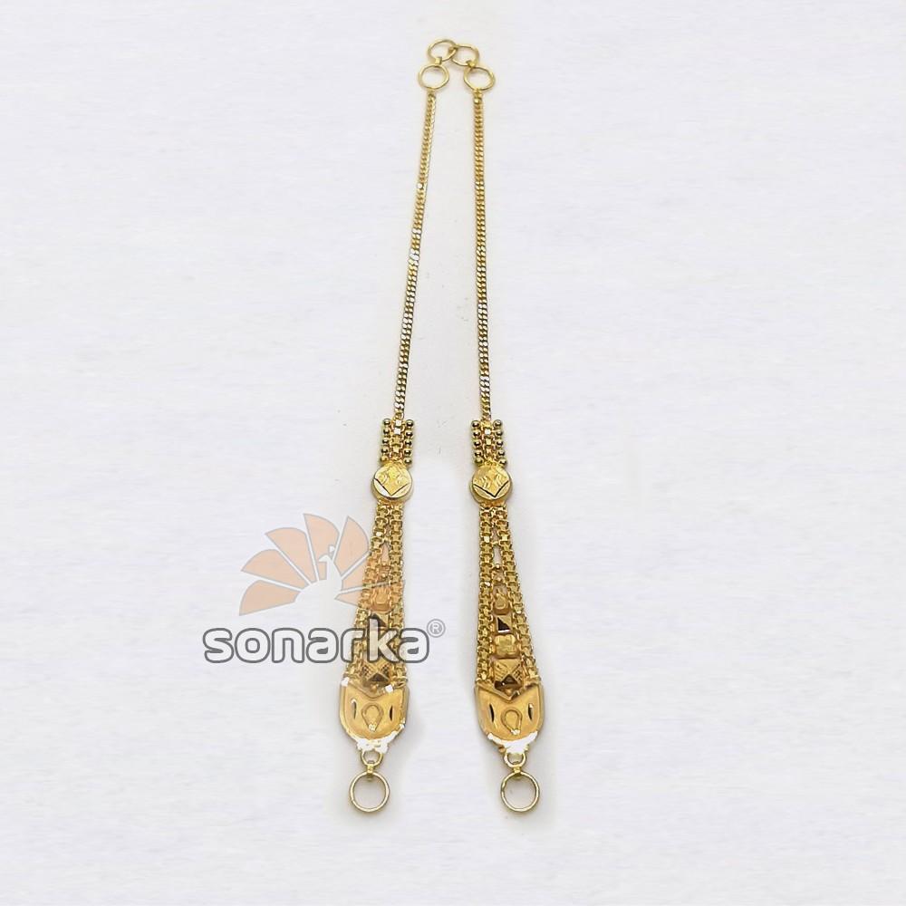 Gold Earchain SK - K039