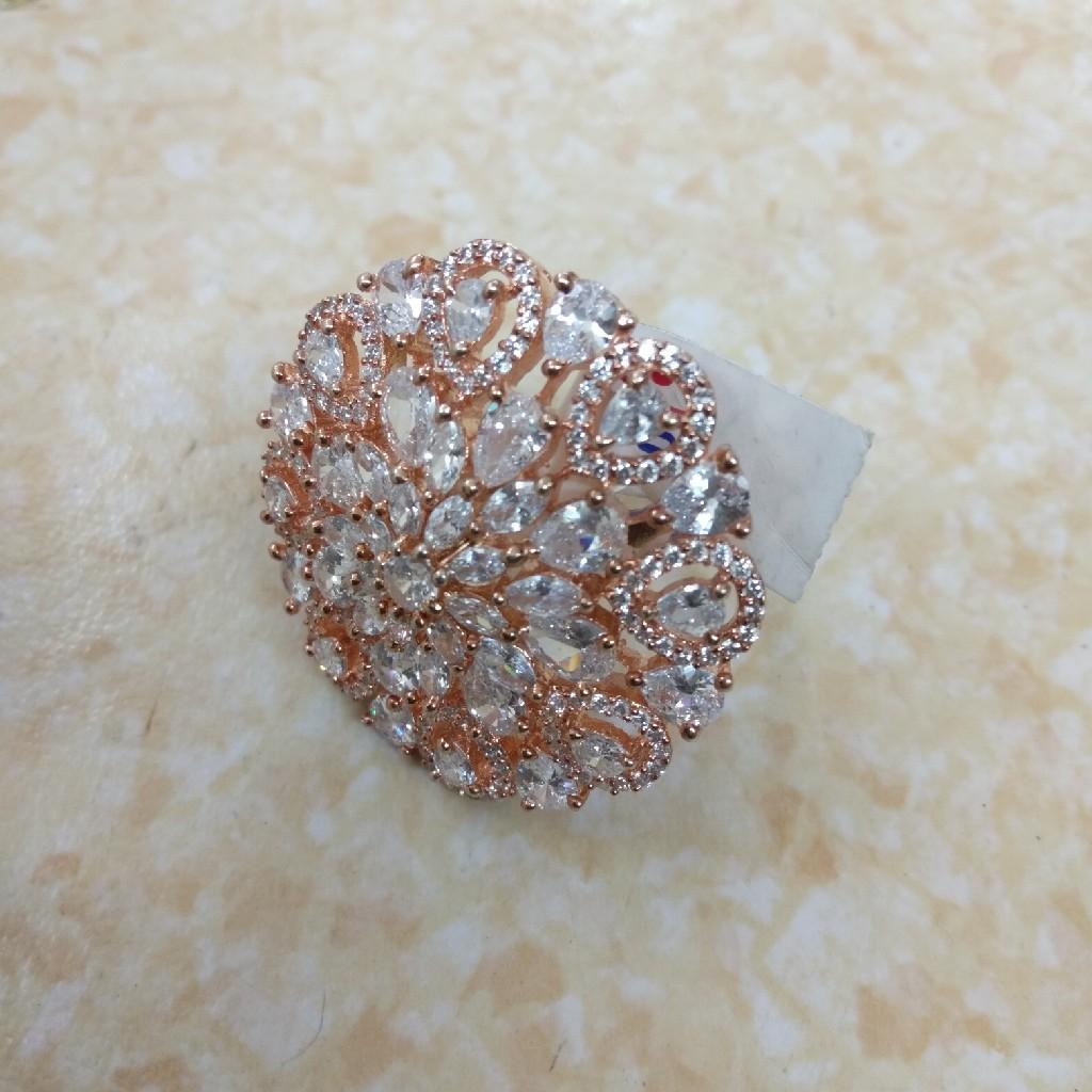 C.z. Diamond Imitation Ring