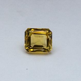 4.18ct oval yellow topaz