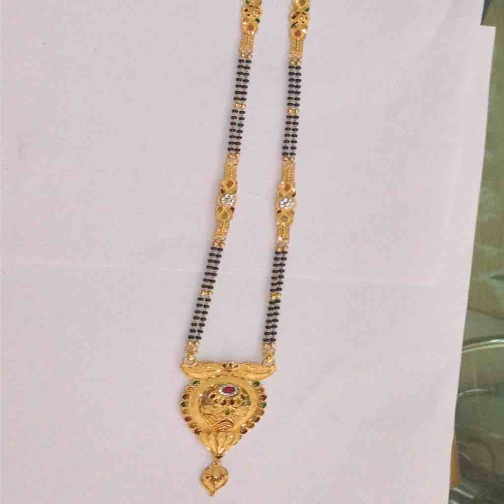 916 Yellow Gold Mangalsutra