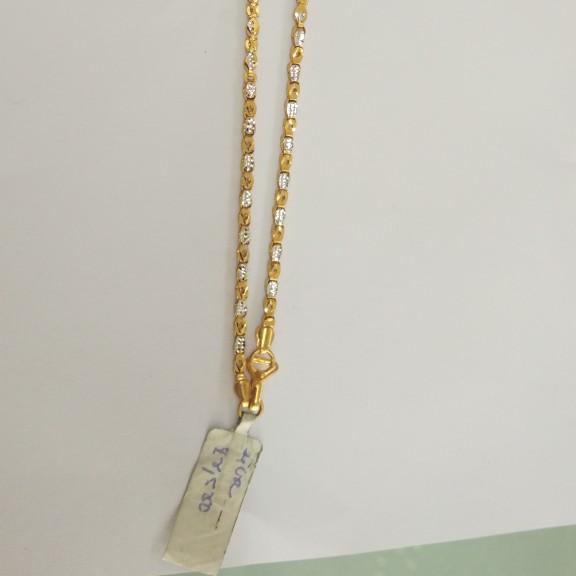 916 Gold Antique chain XM4654