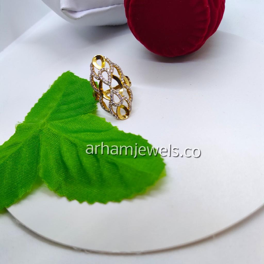 916 gold fancy ring RGG0099