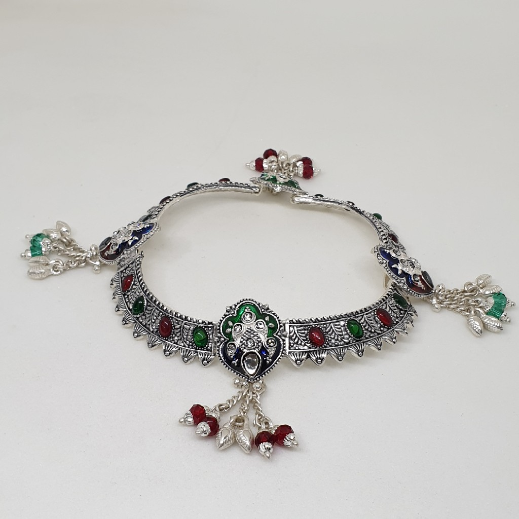 Silver Antique Payal fcps/79