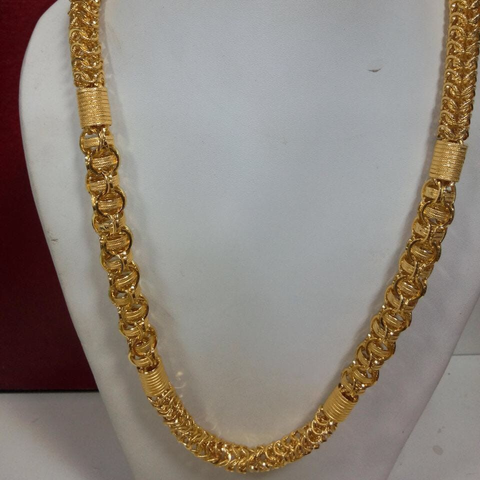 22 kt gold holo chain