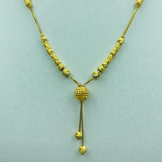 22 ct gold fancy dokiya set