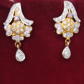 916 hallmarked Earrings FA7279