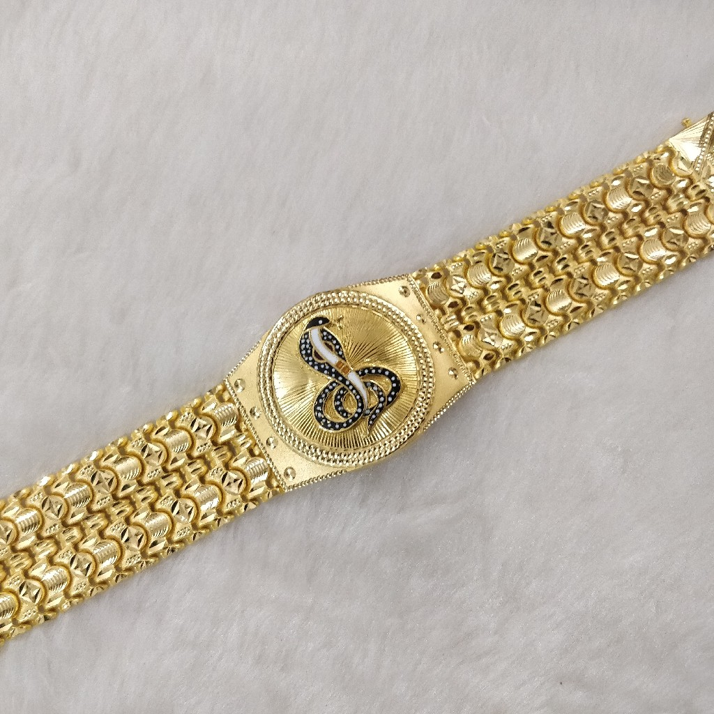916 Gold Gent's Goga Maharaj Bracelet