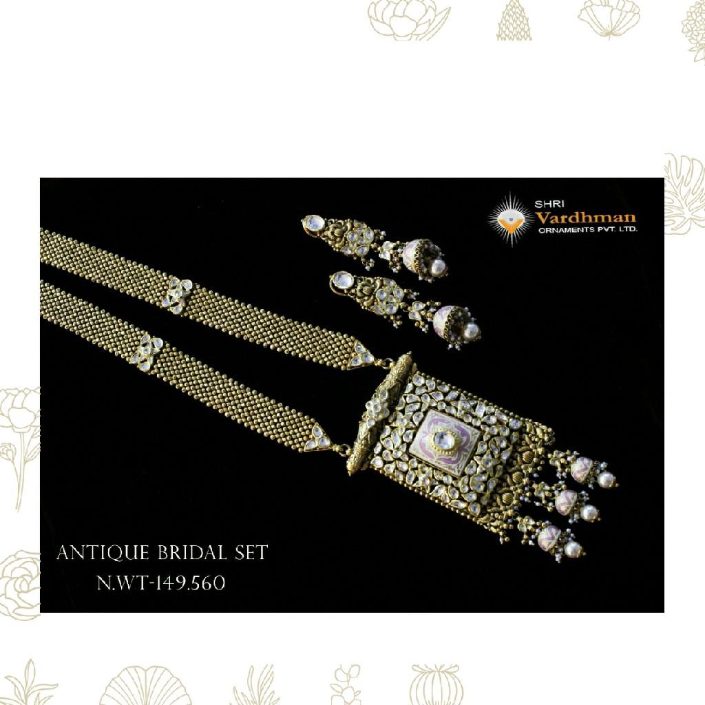22ct(916) antique bridal set