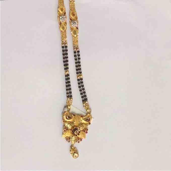 916 Gold Fancy Wedding Mangalsutra