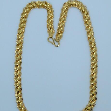 916 HM Gold Lotus Chain MJ-CH-005