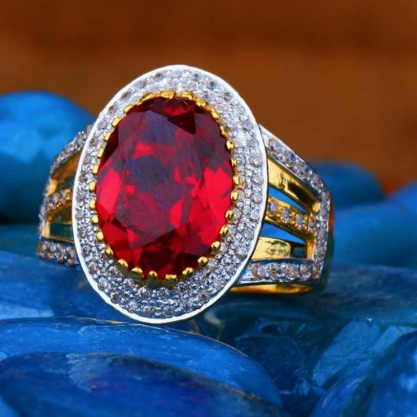 22KT Gold Gents Fancy Ring