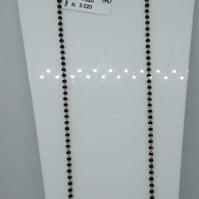 76 Rose Gold  Beads Kidiya Sher RMS61