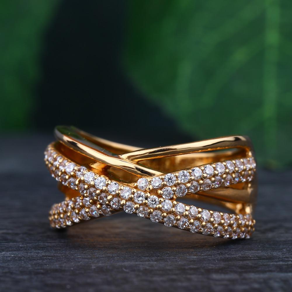 916 Gold Hallmark Trendy design Ring