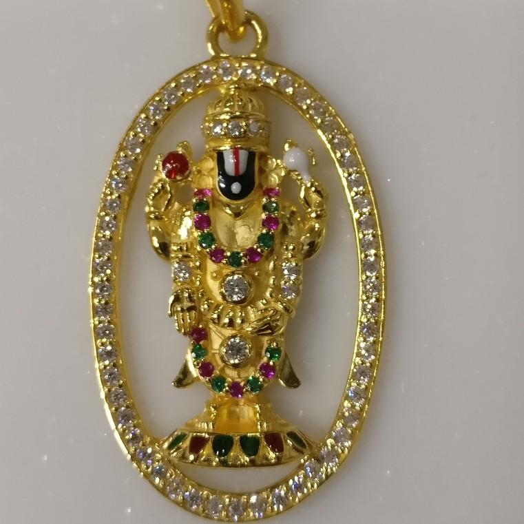 God Balaji pendant