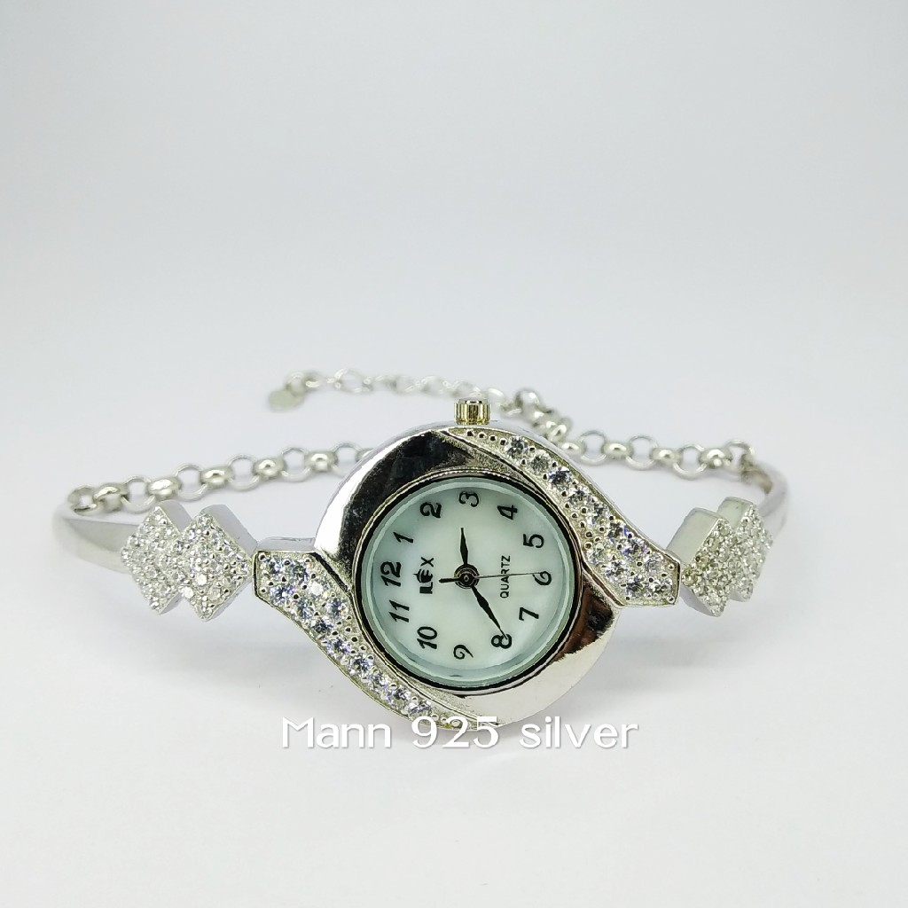 92.5 sterling silver exclusive ladies watch ml-007