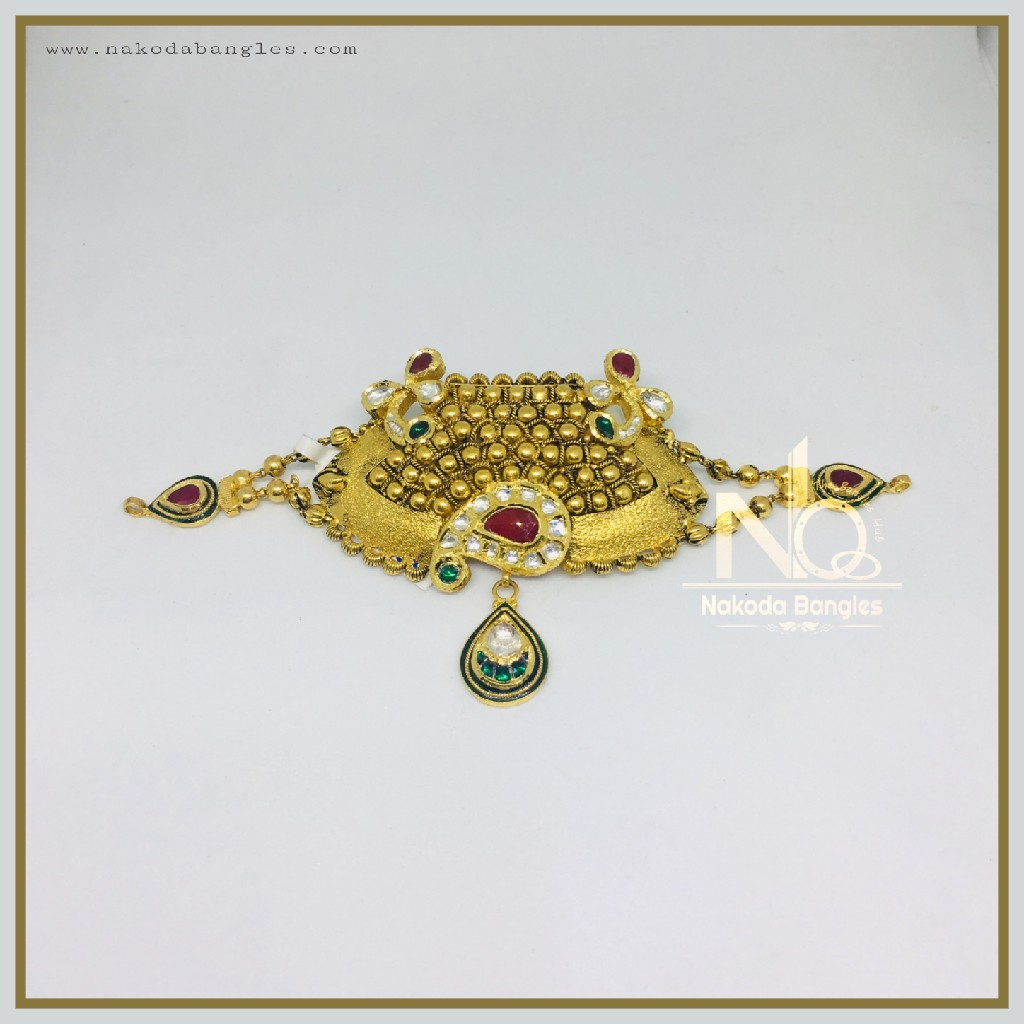 916 Gold Antique Bajubandh NB-358