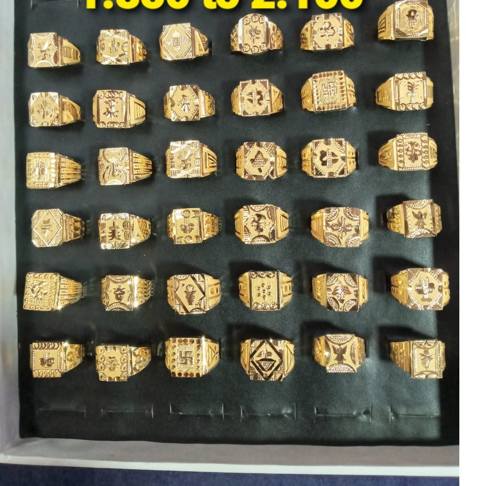 22KT Gold Men's Ring