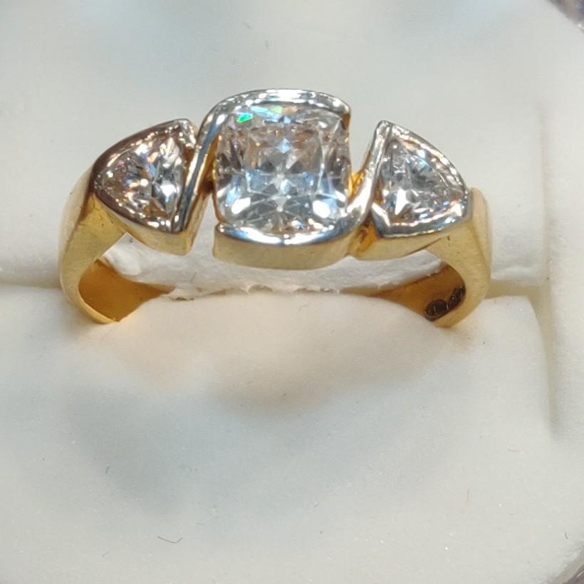 Swarovski diamond ring