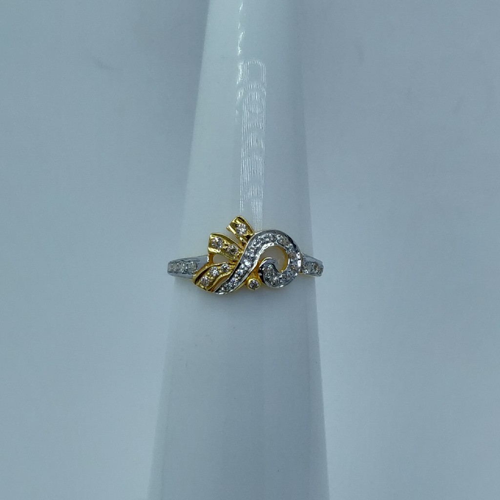 22k light weight fancy ring