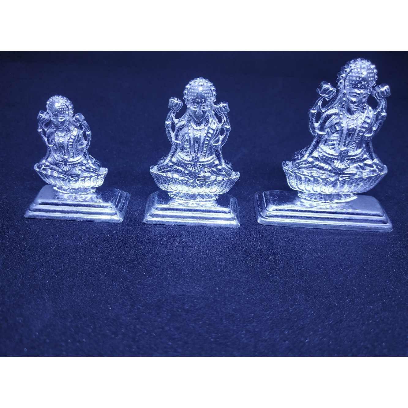 Single Laxmi Heavy-light Weight Traditional Casting Murti(Bhagvan,God)