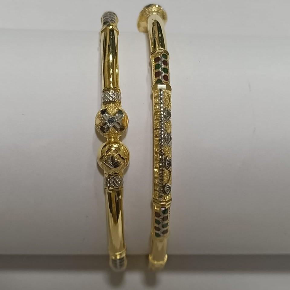 22KT Gold Ladies Delicate Ghaba Kadali SG38