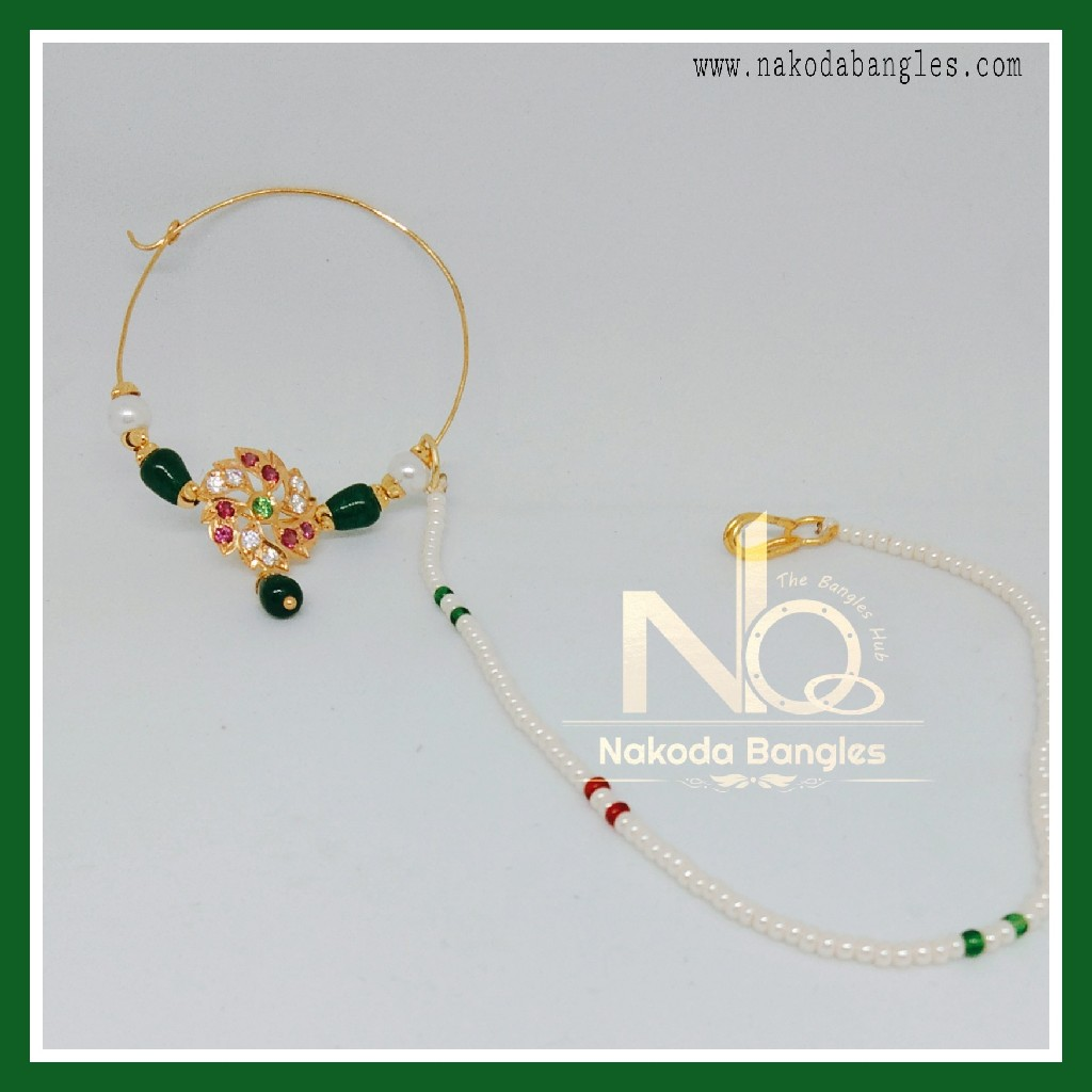 916 Gold Antique Nath NB-272