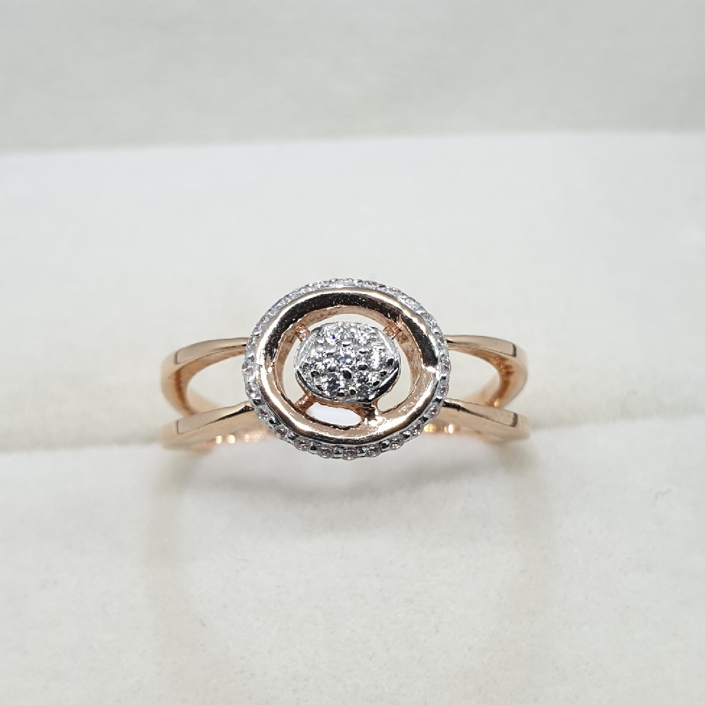 18k Rose Gold Ring
