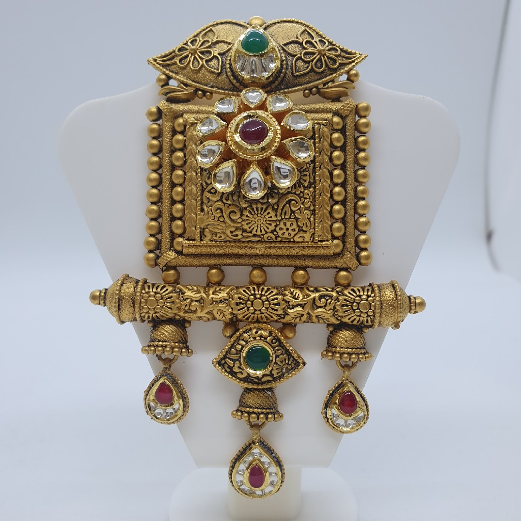 Mangalsutra Antique Jadtar Pendant